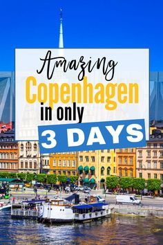 How to see everything you can in 3 days in Copenhagen! Castles, statues, food halls, Nyhavn, museums and more! #copenhagentravel #scandinavia