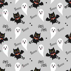 Feliz Halloween, Spooky Halloween, Bandanas, Vector Free, Sunrise, Scrapbook, Wallpapers, Cute, Pattern