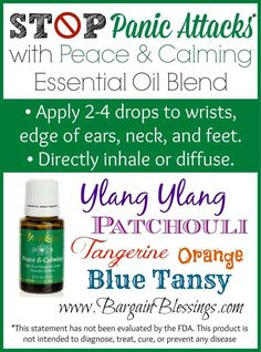 Peace & Calming® is a gentle, fragrant blend. When diffused, it helps calm tensions and uplift the spirit, promoting relaxation and a deep sense of peace. When massaged on the bottoms of the feet, it can be a wonderful prelude to a peaceful night's rest. Peace & Calming may be especially calming and comforting to young children after an overactive and stressful day.