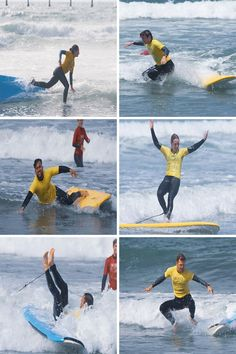 come watch everyone wipe out and have fun at San Diego Surf school Surfing Tips, Learn To Surf, Wipe Out, Pacific Beach, Lifeguard, Ocean Beach, All Over The World, Surfboard, The Good Place