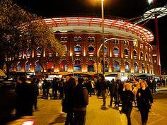Barcelona, Plaza de Toros las Arenas ahora Centro comercial.