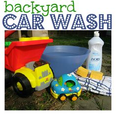 car wash for toddlers