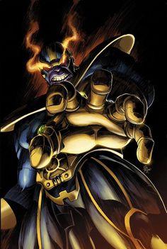 Thanos por Mike Deodato, Jr.