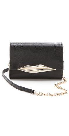 Diane von Furstenberg Lips Mini Cross Body Bag