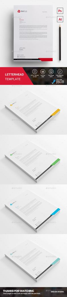 Letterhead Template  Letterhead Template Template And Stationery