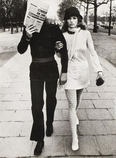 Photo Helmut Newton; Les Galuois, circa 1970.