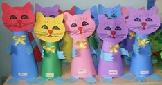 cone shaped cat craft | Crafts and Worksheets for Preschool,Toddler and Kindergarten