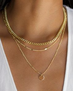 Fashion Necklace Dainty Necklace Lightning Necklace Yellow Earrings On – clotheoo 3 Layer Necklace, Gold Disc Necklace, Layered Chain Necklace, Dainty Diamond Necklace, Layered Chains, Bar Necklace, Layered Gold Necklaces, Diamond Earrings, Layering Necklaces