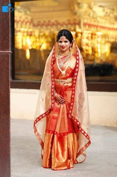 South Indian Brides Who Rocked The South Indian Look - WedMeGood - Indian Wedding Planning Website - internationally inspired South Indian Wedding Saree, South Indian Bridal Jewellery, Indian Bridal Sarees, Indian Wedding Wear, South Indian Bride, Indian Weddings, Punjabi Wedding, Romantic Weddings, Mysore