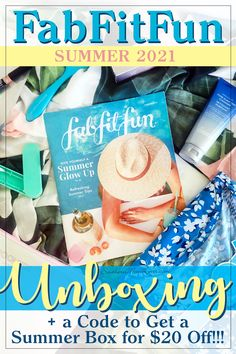 I just got myFabFitFun Summer 2021 boxandit's time to unbox it! We'll check out everything I chose for my summer glow up and I've also got a discount code so you can get a FabFitFun box for yourself for 20% off!!! Let's get unboxing! #subscriptionbox #unboxing #fabfitfunspring2021 #beauty #fashion #fitness #home #discount #coupon Holiday Gift Guide, Holiday Gifts, Fab Fit Fun Box, Summer Glow, Shopping Deals, Subscription Boxes, Book Activities, Parenting Hacks, Coding