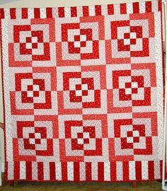 I LOVE THIS!!! optical illusion quilt