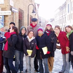 """Amy Dardinger sent us this! She said, """"I have such great memories of our adventures on the Rome 2005 Northern Italy Trip. It's hard to believe it's been 10 years. Thanks, Saint Mary's!"""""""