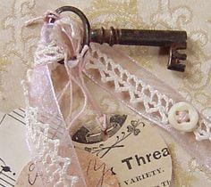 Romantic Skeleton Key by Abigail Mooney, via Flickr