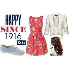 Ready. Set. Summer! with Keds, created by bethany2k14 on Polyvore