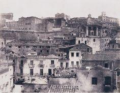 Edouard Delessert, Cagliari, vista del quartiere di Castello, 1854