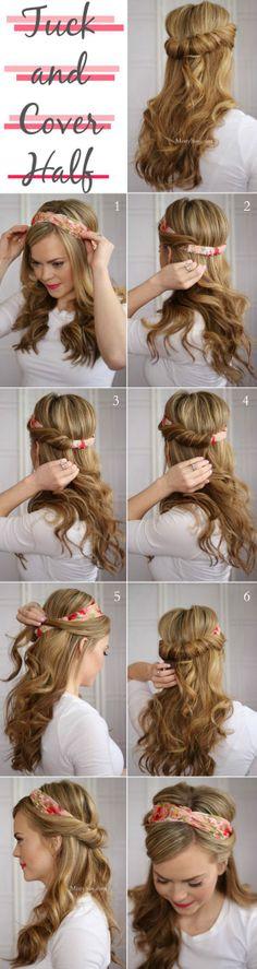 Peinado fácil..