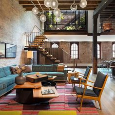 #Loft in #NewYork designed by Andrew Franz #Architect / Photo by Albert Vecerka #d_signers