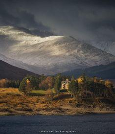Loch Loyne in Scotland