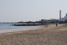 삼양해수욕장  검은모래가 유명하다