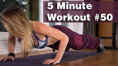 5 Minute Workout #50 - BURPEE CHALLENGE!
