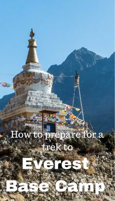 Wanting to know how to prepare for a trek to Everest Base Camp? Check out this guide to answer all your questions you have on trekking to Everest Base Camp Travel Guides, Travel Tips, Trading Places, Travel Articles, Asia Travel, Southeast Asia, Budget Travel, Trek, Traveling By Yourself