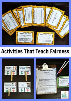 Fairness is an important character trait for children to develop. The activities in this fairness character education bundle teaches kids how to explore issues related to fairness, Identify fair and unfair situations, and brainstorm ways they can show fairness toward others.