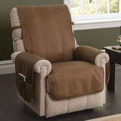 Innovative Textile Solutions Furniture Protector Recliner Slipcover Color:
