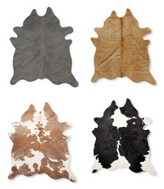 Cowhide Rugs at Good Prices | www.decorchick.com