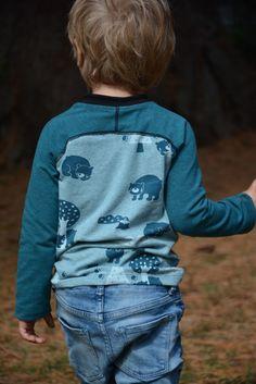 Foto zu Schnittmuster Raglan-Longsleeve Smart-Shirt von Muhküfchen Design