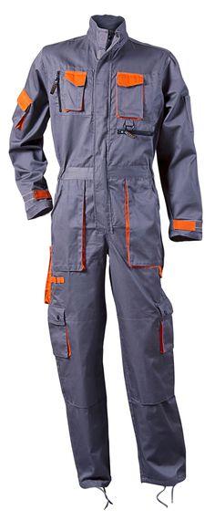 Desman Boilersuits Coveralls In Grey - Grabells