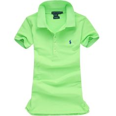 Ralph Lauren Pony Polo For Women In Light Green Outlet Online