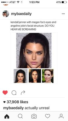 Find images and videos about kendall jenner, Angelina Jolie and meghan fox on We Heart It - the app to get lost in what you love. Fox Eyes, Mein Style, Le Jolie, Comme Des Garcons, Kendall Jenner, Beautiful People, Makeup Looks, Eye Makeup, Beauty Hacks