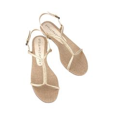 04cd3d288 Gold sandals that don t go between the toes