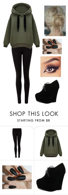 """""""Untitled #714"""" by delioria on Polyvore featuring NIKE and Forever Link"""