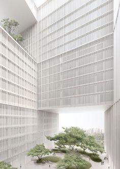 David Chipperfield - Amorepacific Headquarters, Apma, Seoul Korea
