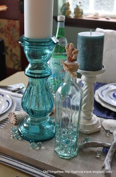 Old Things New – Coastal Tablescape