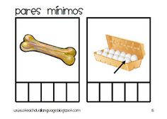 Minimal Pairs Cards in Spanish