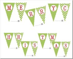 517 creations: 31 days of warming up to the holidays: {day 27} merry christmas printable banner