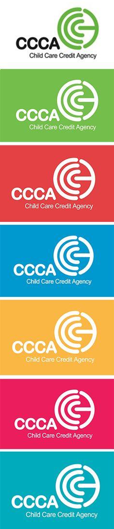 Logo designed by RIS Designs for a Child Care Credit Agency. www.risdesigns.com.au Graphic Design Studios, Logo Design, Child Care, Branding, Logos, Brand Management, Logo, Identity Branding