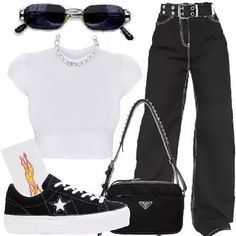 Fashion Tips 2018 .Fashion Tips 2018 Teen Fashion Outfits, Edgy Outfits, Mode Outfits, Retro Outfits, Grunge Outfits, Vintage Outfits, Girl Outfits, Womens Fashion, Aesthetic Fashion