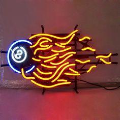 8 Ball Neon Sign