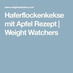 Haferflockenkekse mit Apfel Rezept | Weight Watchers