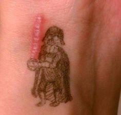 Scar Tattoos : Dark Vador de Star Wars