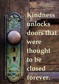 ...unlock the doors