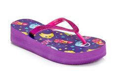 Disney Store Girl Sofia the First Sandal Flip Flops Beach Thong Slipper 5-6//7-8