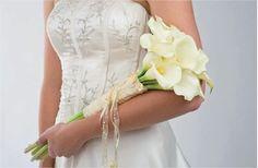 Bouquet de mariée simple arums