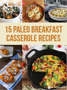 15 Paleo Breakfast Casserole Recipes