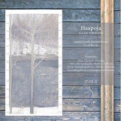 """Seinätekstiili """"Haapoja"""", Ellen Thesleff, Kansallisgalleria / Ateneumin taidemuseo Chalkboard Quotes, Art Quotes"""