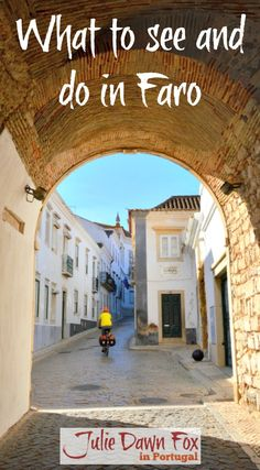 What To See In Faro, The Overlooked Capital Of The Algarve region of Portugal. Faro Portugal, Visit Portugal, Spain And Portugal, Portugal Trip, Europe Travel Tips, Places To Travel, Travel Destinations, Places To Go, Travelling Europe