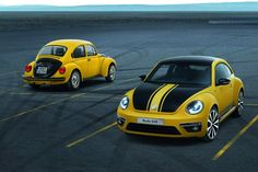 Volkswagen's new Beetle GSR with a limited number of 3,500